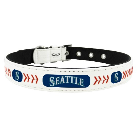 Seattle Mariners  Leather Collar
