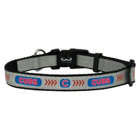 Chicago Cubs Reflective Toy Baseball Collar
