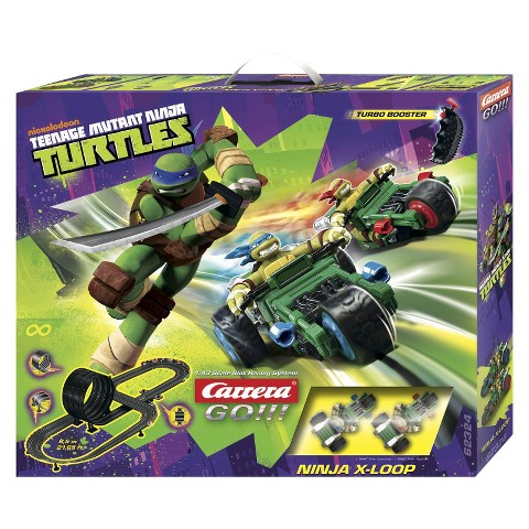 Go!!! Teenage Mutant Ninja Turtles X-Loop Race Set
