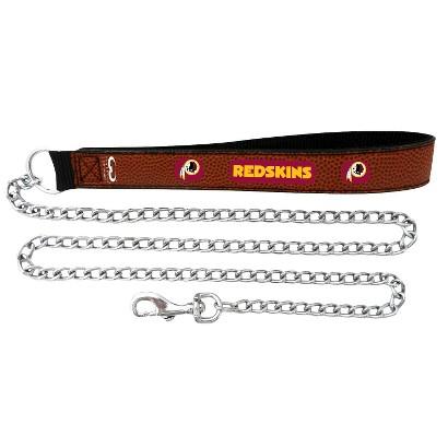 Washington Redskins Leather Leash