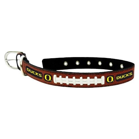 Oregon Ducks Classic Leather Collar
