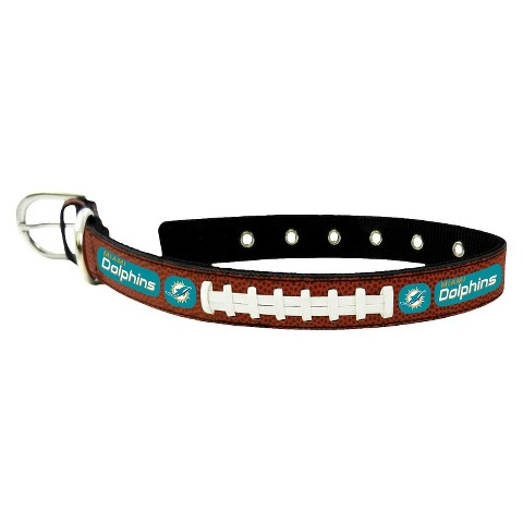 Miami Dolphins Leather Collar