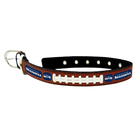 Seattle Seahawks Leather Collar