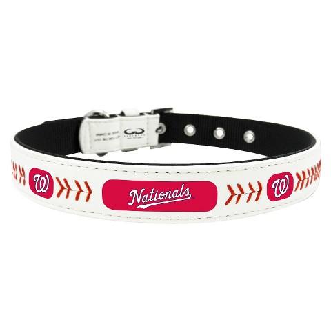 Washington Nationals Leather Collar