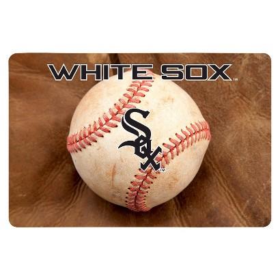 Chicago White Sox Baseball Pet Bowl Mat-L