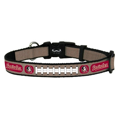 Florida State Seminoles Reflective Toy Football Collar