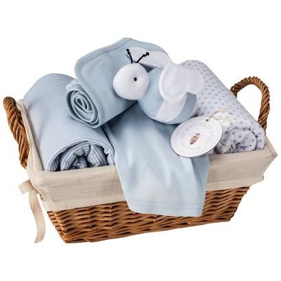 Burt's Bees Baby™ Organic 6pc Baby Bedding Gift Set in Sail Blue