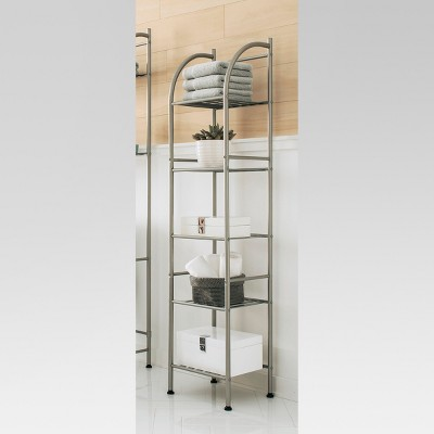 Threshold™ Metal Towel Tower - Brushed Nickel