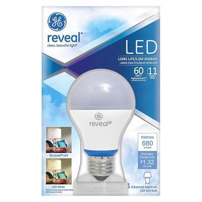 GE Reveal 60-Watt LED Light Bulb