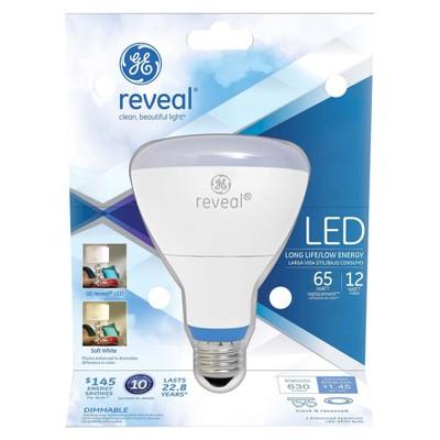 GE Reveal 65-Watt LED BR30 Light Bulb