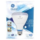 GE Reveal 65-Watt LED BR30 Light Bulb