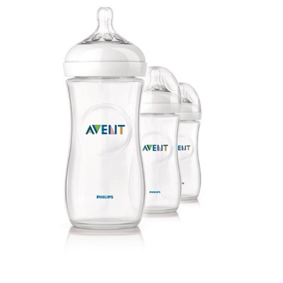 Philips Avent Natural Bottle - 11oz (3pk)