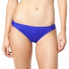 Mossimo® Women's Crochet Mix and Match Hipster Swim Bottom -Grace Bay Blue