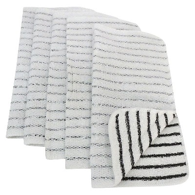 Room Essentials™ Dish Cloth Scrubbers 5-pack - Black