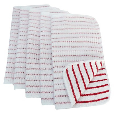 Room Essentials™ Dish Cloth Scrubbers 5-pack - Red