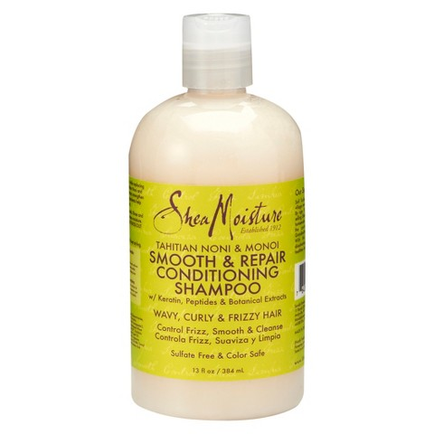 SheaMoisture Tahitian Noni & Monoi Smooth & Repair Conditioning Shampoo - 13 fl oz