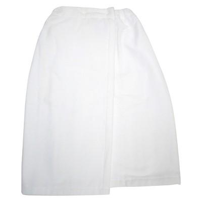 Threshold™ Velour Cotton Shower Wrap - True White