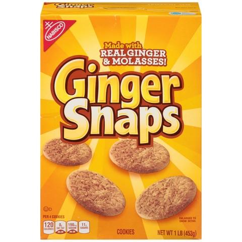 Ginger Snaps 16 oz