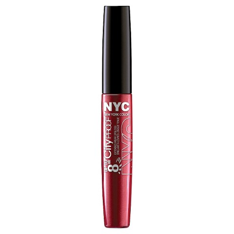 NYC City Proof Extended Wear Lip Gloss - Cherry Ever After