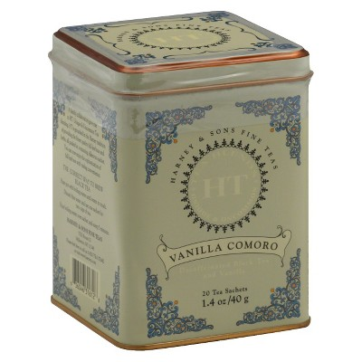 Harney & Sons Vanilla Comoro Decaffeinated Black Tea 20 ct