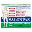 Salonpas Pain Relief Patch - 40ct