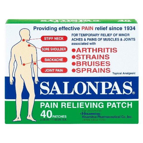 Salonpas Pain Relief Patch - 40ct