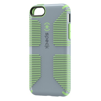 Speck Candyshell Grip Cell Phone Case for iPhone 5C - Grey/Green (SPK-A2313)