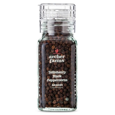 Black Peppercorns Grinder 3.4oz - Archer Farms™