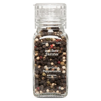 Four-Color Peppercorn Grinder 1oz - Archer Farms™