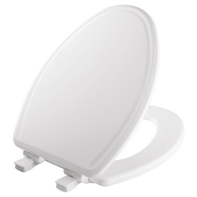 Mayfair Elongated Molded Wood Toilet Seat with Whisper•Close® with Easy•Clean & Change® Hinge and STA-TITE® Seat Fastening System™