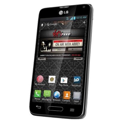 Virgin Optimus Prepaid Cell Phone - Black
