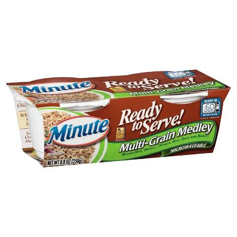 Minute Multi-Grain Medley Microwaveable Rice Bowl 8.8 oz