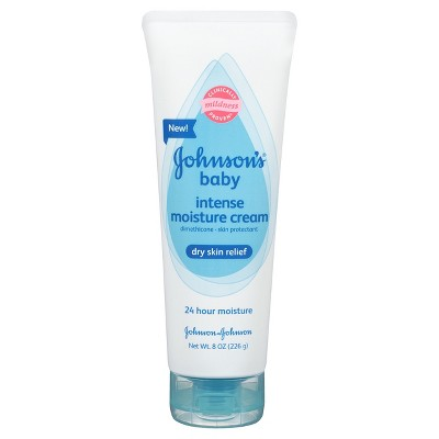 Johnson & Johnson Unscented Baby Lotion  8 fl oz