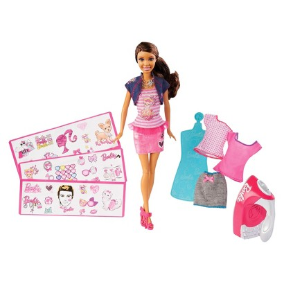 Barbie Iron-On Style African-American Doll