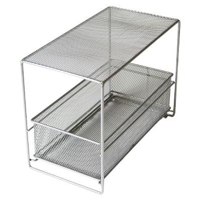Neat Life 1 Drawer Shelf Organizer - Silver