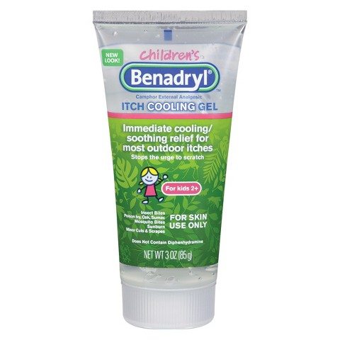 BENADRYL KID 3OZ ANTI ITCH  GEL