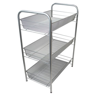 Storage Cart Silver Neat Life