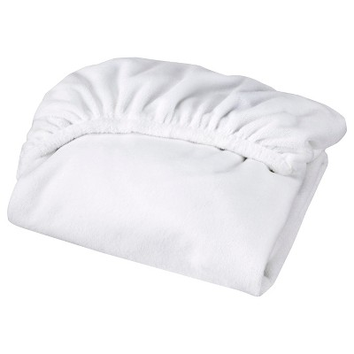 Circo™ Plush Sheet - White