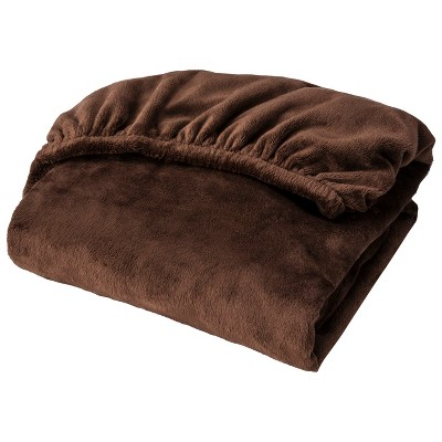 Circo® Plush Sheet - Brown