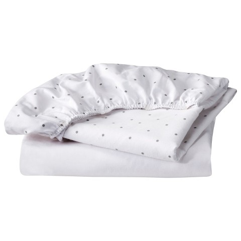 Circo® 100% Cotton Bassinet Fitted Sheet Set