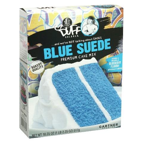 Duff Blue Suede Premium Cake Mix 18.25 oz