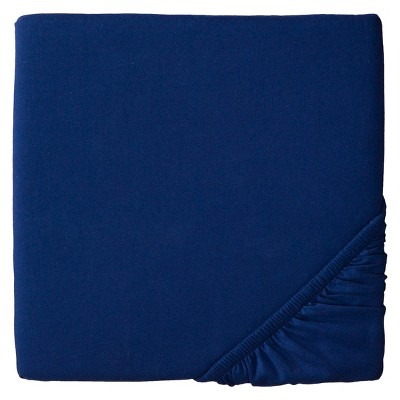 Circo™ Knit Fitted Crib Sheet - Navy