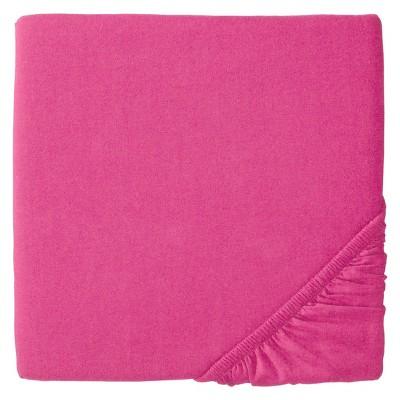 Dark Pink solid woven sheet