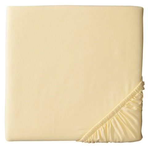 Woven Fitted Crib Sheet - Circo™