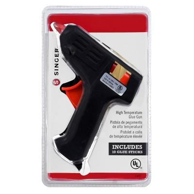 Singer High Temp Glue Gun w/10ct Glue Stick