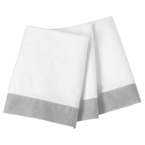 Circo® Single Pleated Cotton Crib Skirt