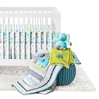 4pc Crib Bedding Set - Trunks of Love by Circo