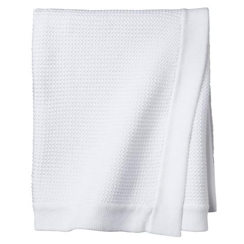 Circo™ Knit Baby Blanket - White