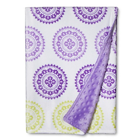 Circo™ Valboa Baby Blanket - Purple Medallion