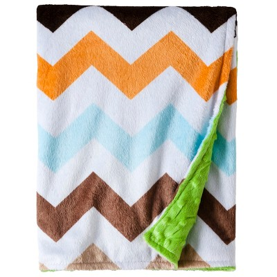 Circo™ Valboa Baby Blanket - Neutral Chevron